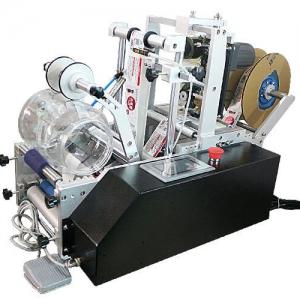 מכונת הדבקה חצי-אוטומטית למוצרים גליליים HL-T-200